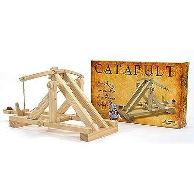 Pathfinders Roman Catapult Model Kit: Toys & Games