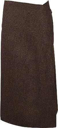 Victoria Beckham Luxury Fashion Womens SKMID31001BBROW Brown Skirt   Fall Winter 19