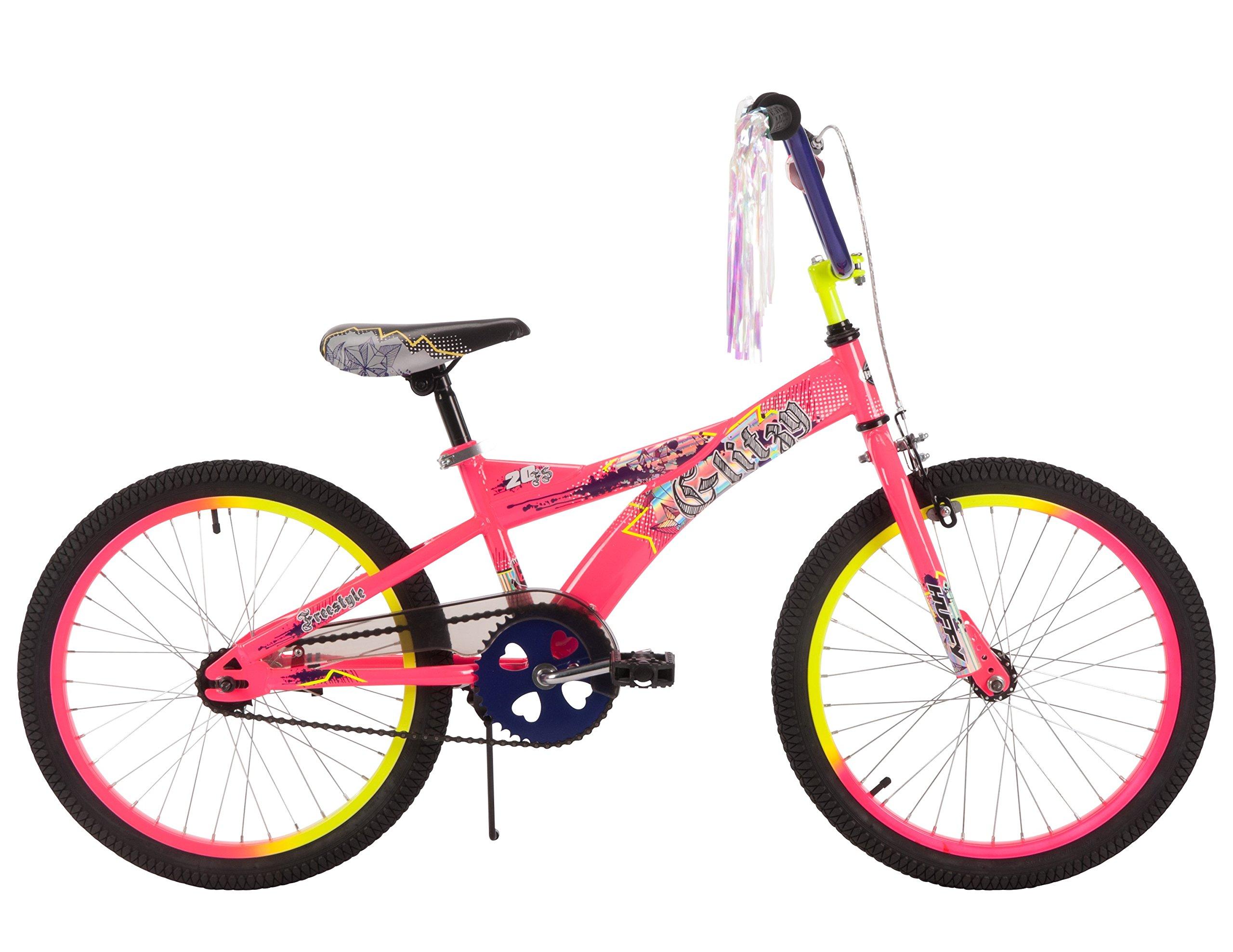 Huffy 20'' Glitzy Girls' Bike, Pink