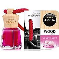 Aroma Car luchtverfrisser Mini Wood Bubble Gum 4 ml