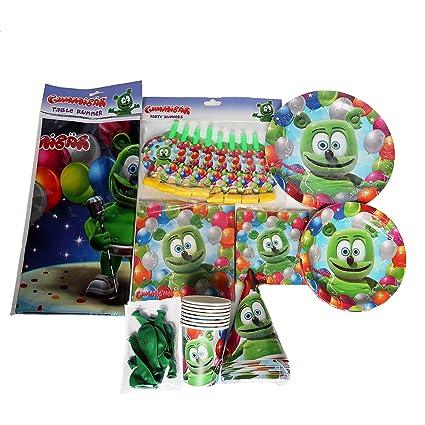 Amazon.com: Gummibär – Juego de 8 accesorios para fiesta de ...