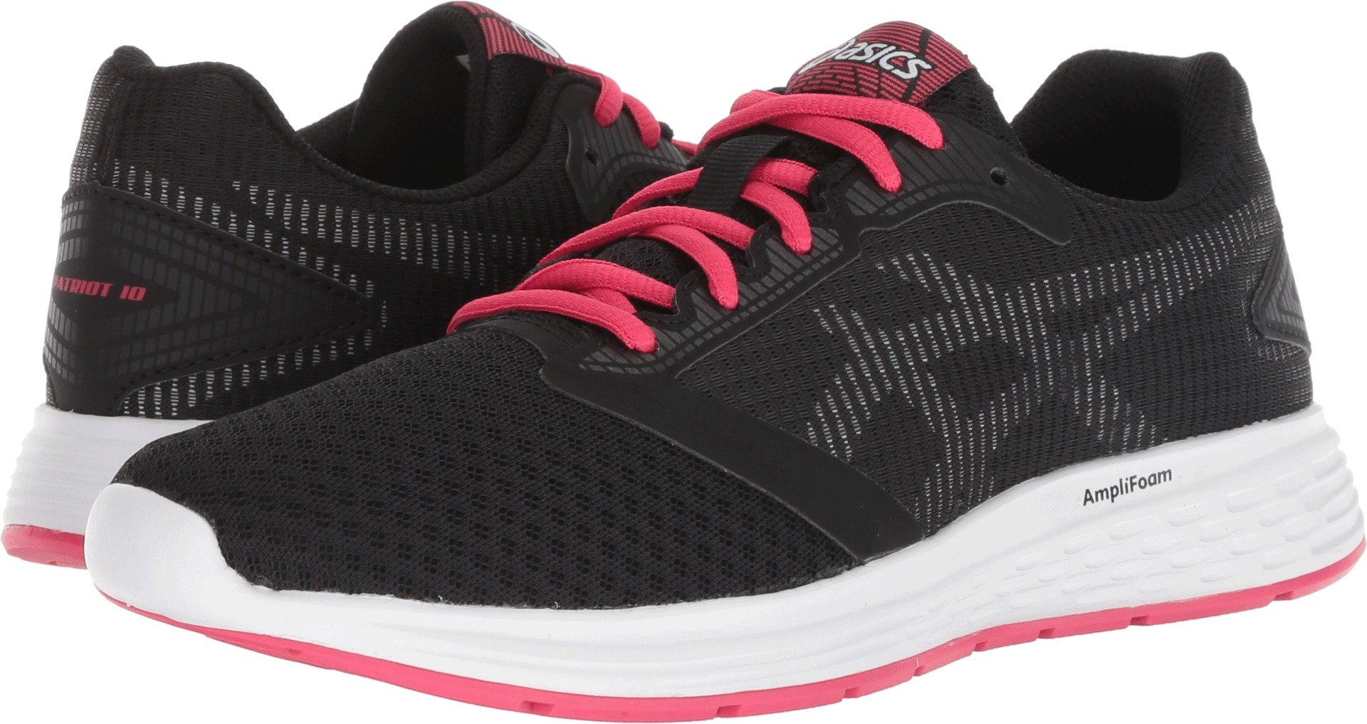 ASICS Women's Patriot Black/Pixel Pink 8 B US