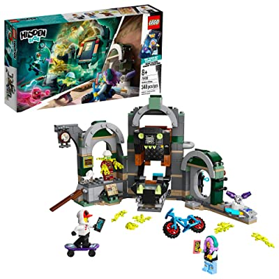 LEGO Hidden Side Newbury Subway 70430 Ghost Toy, Cool Augmented Reality Play Experience for Kids, New 2020 (348 Pieces): Toys & Games