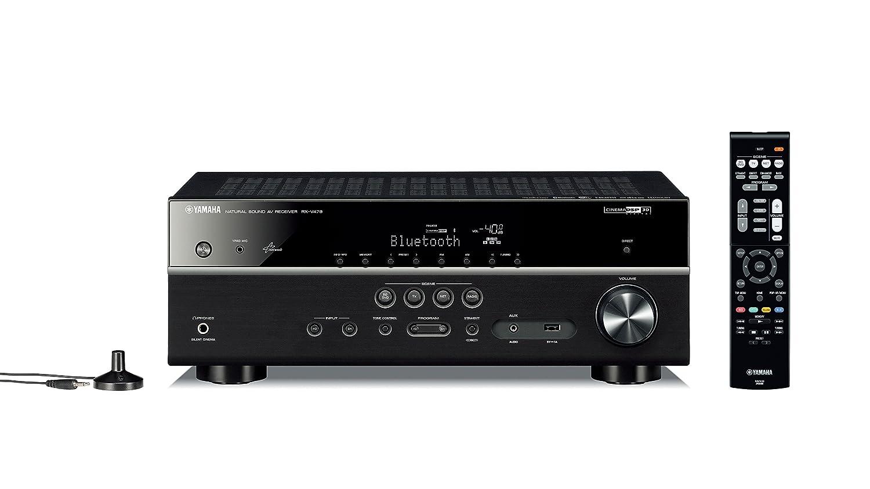 Yamaha RX-V479 - Receptor AV (5.1, 115W, 140W, Inalámbrico y alámbrico, AM, FM, 0,1W): Amazon.es: Electrónica