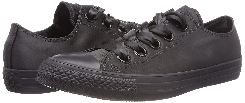Converse Ctas Big Eyelets Ox Almost nero, scarpe da da da ginnastica Donna 346cf1
