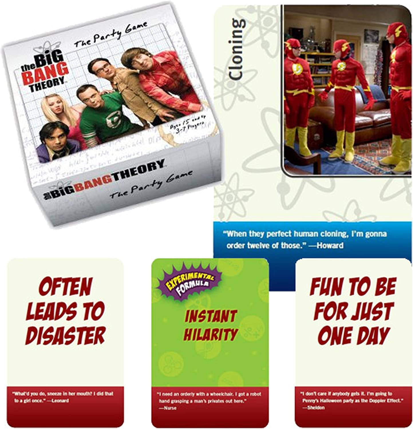 The Big Bang Theory The Party Game - Juego de Mesa (en inglés): Amazon.es: Juguetes y juegos