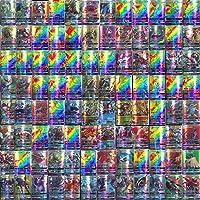 120 stuks Pokemon-kaarten, Pokemon-ruilkaarten, Pokemon-kaartspel, GX-ruilkaarten met 115 Pokemon GX-kaarten en 5…