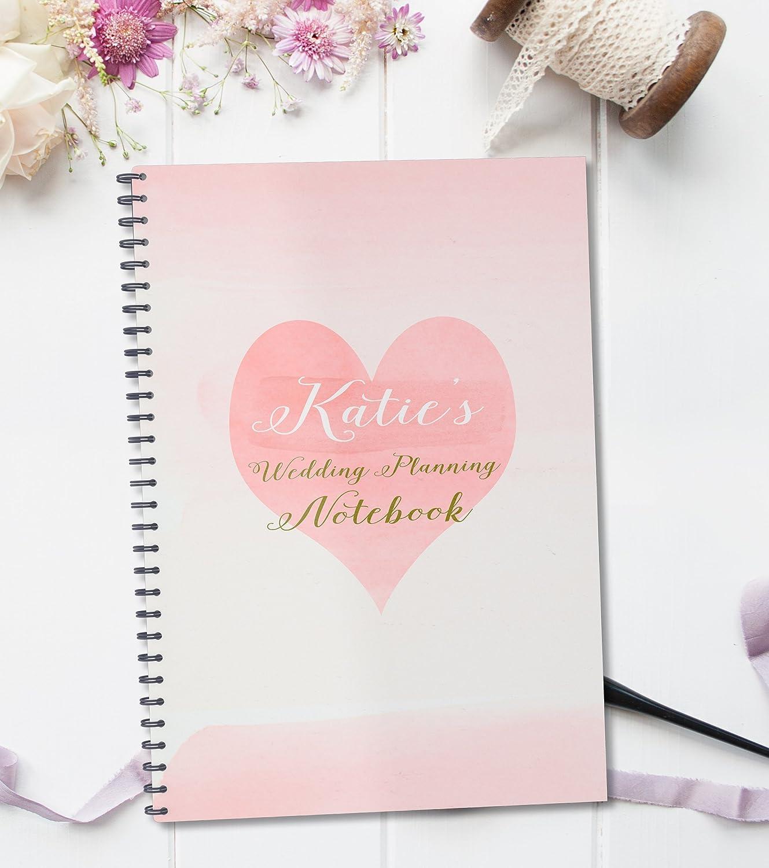 Amazon.com: Personalised Wedding Planner Notebook \