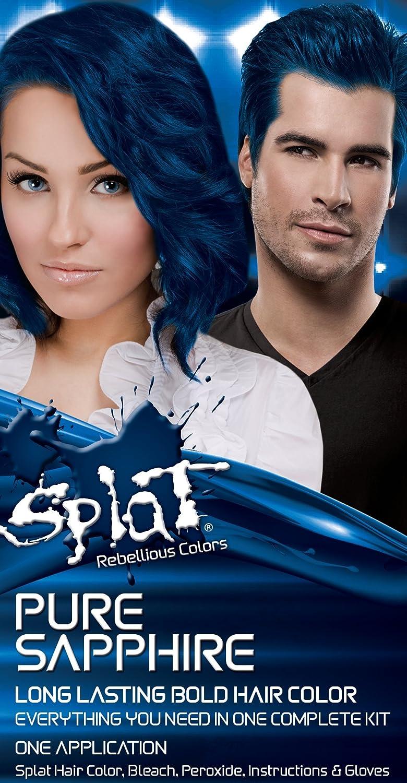 Amazon Splat Rebellious Fantasy Complete Hair Color Kit Pure