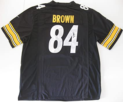 outlet store 41798 650c8 Antonio Brown signed autographed Pittsburgh Steelers Jersey ...