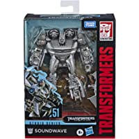 Transformers Toys Studio Series 51 Deluxe Class Dark of The Moon Movie Soundwave Action Figure - Kids Ages 8 & Up, 4.5""