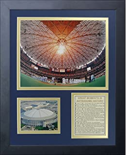 Amazon houston astrodome blueprint print unframed 18x24 legends never die houston astros astrodome framed photo collage 11 by 14 inch malvernweather Images