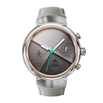 "Asus WI503Q-2LBGE0002 1.39"" AMOLED Plata Reloj Inteligente - Relojes Inteligentes (3,"