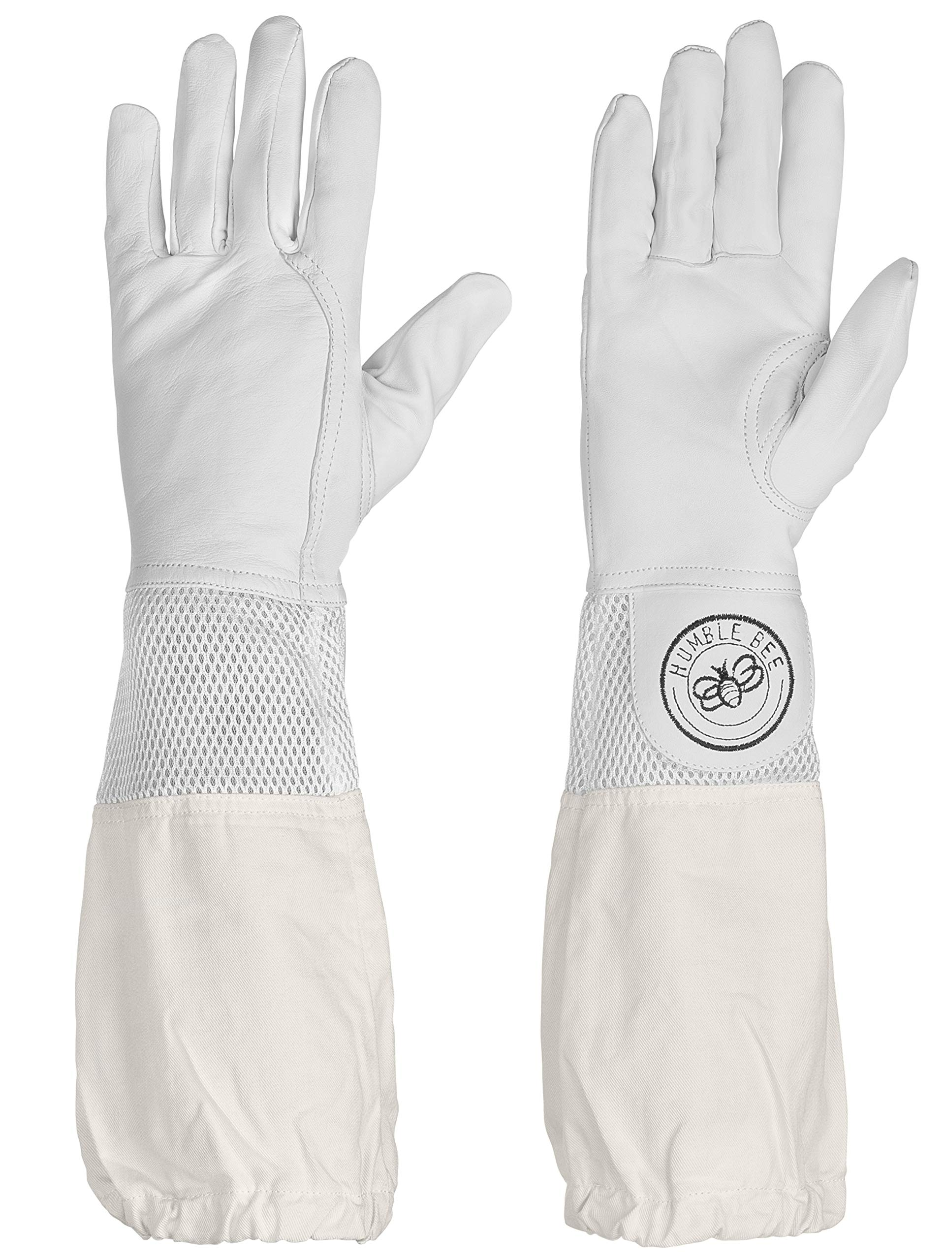 Humble Bee 112-L Beekeeping Gloves with Ventilated Cuffs (Large)