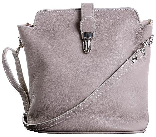 af699f2b76eec Primo Sacchi® Italian Soft Leather Hand Made Small Beige Cross Body or Shoulder  Bag Handbag