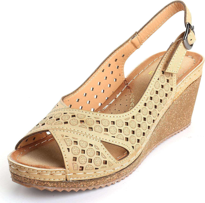 7.5 Womens Platform Vamp Shoe