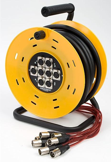 MCT-8 Multicore 15m 8x XLR, Tambor: Amazon.es: Instrumentos musicales