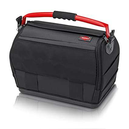 bec1a42d04a5 Knipex 00 21 08 LE – tool bag made of polyester fabric with steel handle