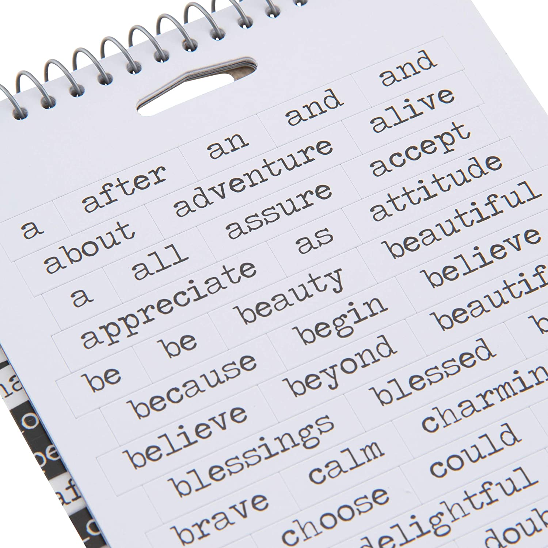 Advantus Idea-Ology Spiral Bound Sticker Book 4.5X8.5-Big Chat