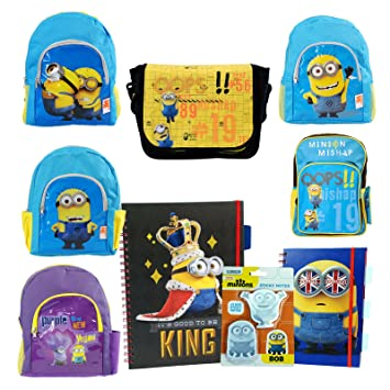 c0959bed6d Despicable Me   Minions Back To School Sets - Minion A4   A5 Notebooks