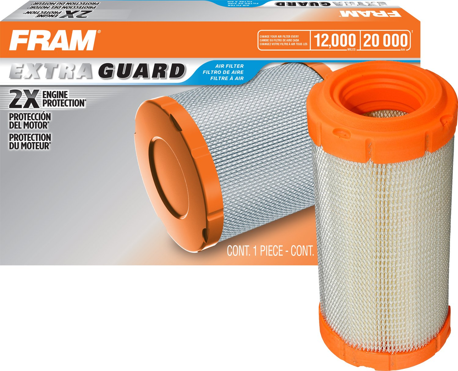 FRAM CA9248 HD Radial Seal Outer Air Filter