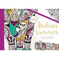 KaiserCraft Kaisercolour Postcard Book 20/pkg-Indian Summer