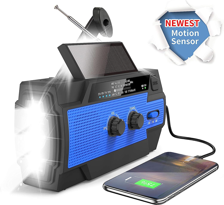 Emergency Weather Flashlight Radio