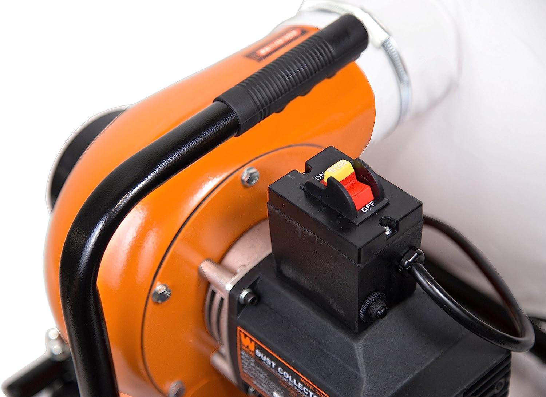 WEN 3401 Dust Collector 12 Gallon Bag Optional Wall Mount 5.7 Amp 660 CFM New