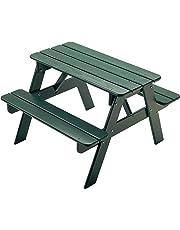 Little Colorado 144GN Child's Picnic Table-Green