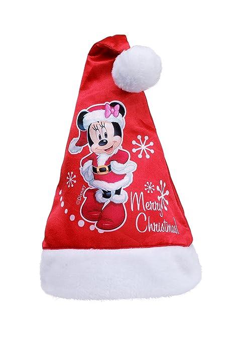 Ciao Cappello Babbo Natale Disney Minnie per Bambini 6479d3b200ed