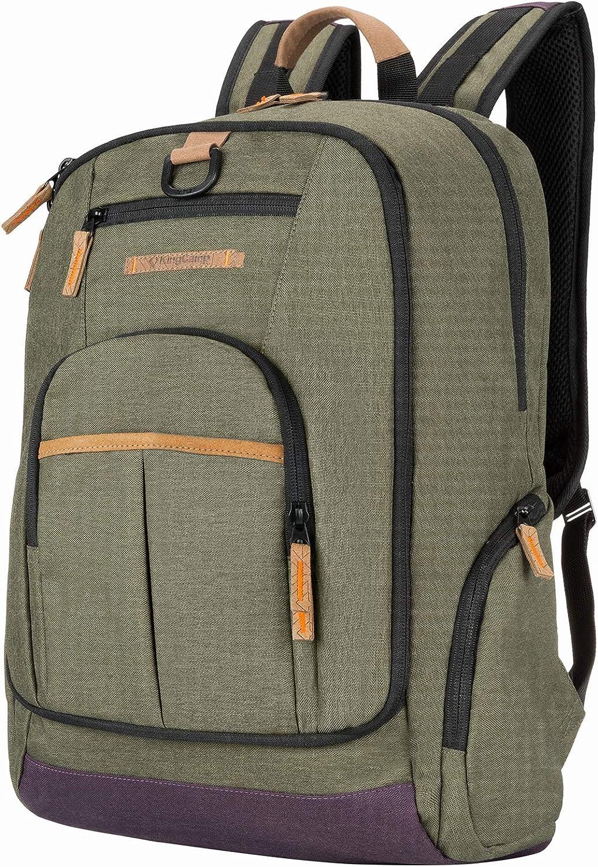 KingCamp Waterproof laptop backpack 17.3 inch for Women & men School Backpack