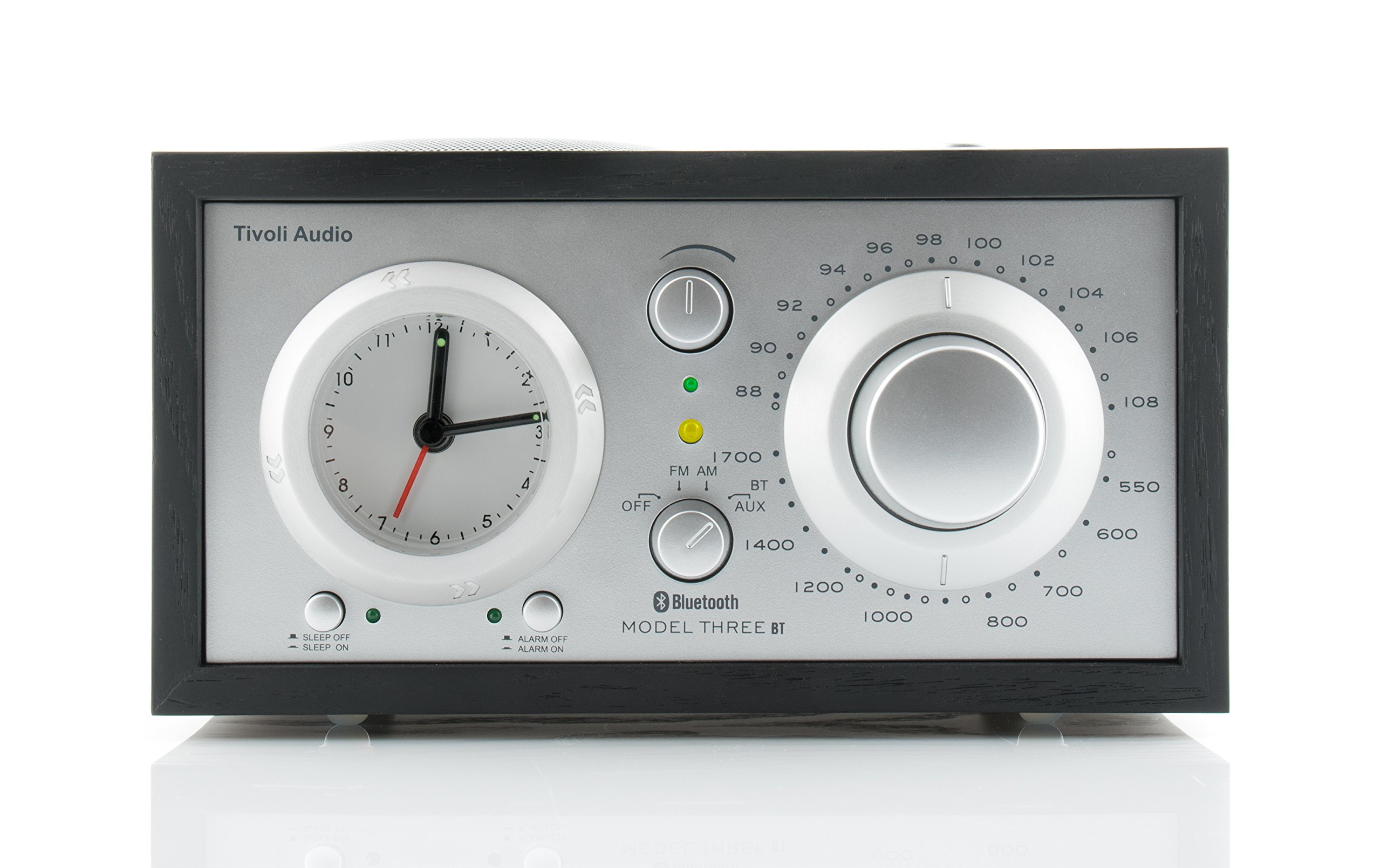 Tivoli Audio Model Three BT in Black/Silver