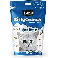 Kit Cat Kitty Crunch Seafood Flavor Cat Treat 60g