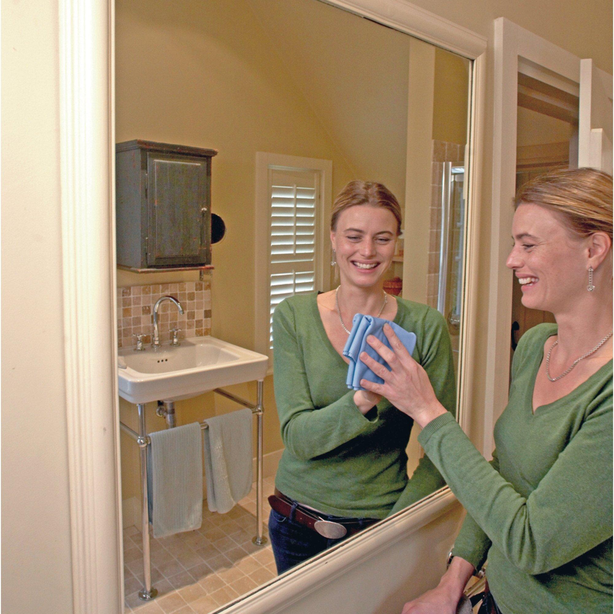 Glass & Polishing Cloth - Brilliant for Sparkling Windows, Mirrors, Glassware, Chrome, and More by E-Cloth (Image #22)