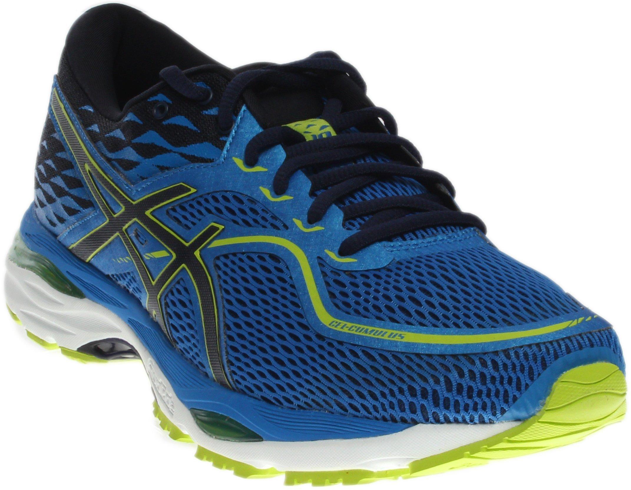 ASICS Men's Gel-Cumulus 19 Running Shoe, Directoire Blue/Peacoat/Energy, 11 Medium US