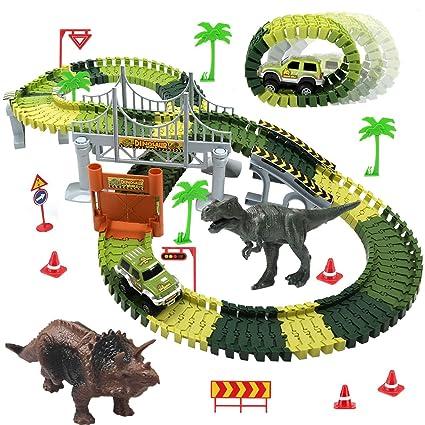 Amazon.com: Juguetes de dinosaurio para niños de 3 años para ...