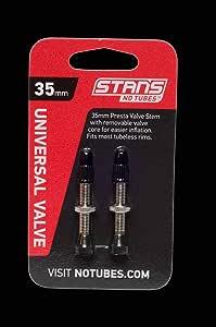 Blue Stan/'s Alloy Tubeless Presta Valves Stem 35mm Universal Pair
