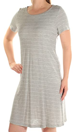 996ca94cab7c Amazon.com: Two by Vince Camuto Womens Short Sleeves Knee-Length T ...