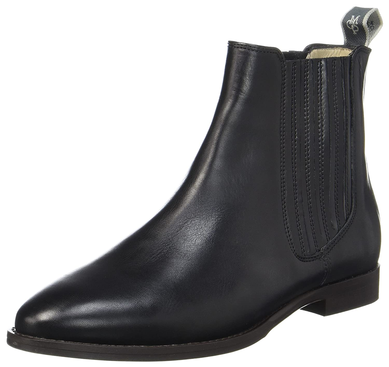 Flat Heel 70814225002124, Chelsea Boots Femme, Schwarz (Black), 36 EUMarc O'Polo