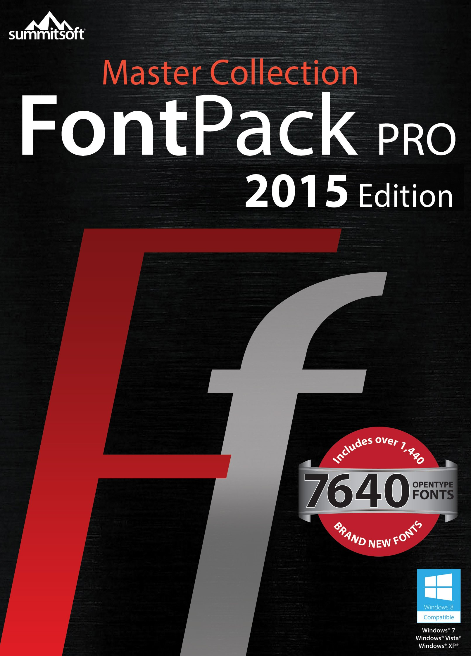 Font Pack Pro Master Collection PC [Download] by Summitsoft