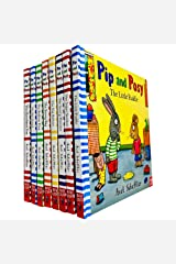 Pip and Posy Collection 8 Books Set by Axel Scheffler (The Super Scooter, The Little Puddle, The Scary Monster, The Big Balloon, The Snowy Day, The Bedtime Frog, The New Friend, The Christmas Tree) Board book
