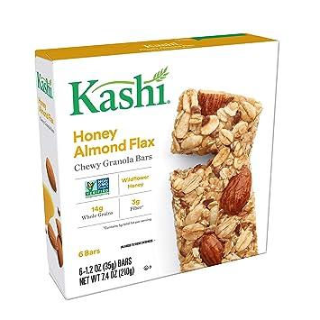 Amazon.com: Kashi Chewy Honey Almond Flax Granola Bars - Box ...