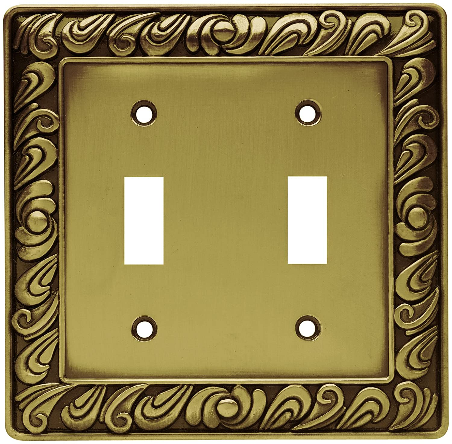 Franklin Brass 64039 Paisley Double Toggle Switch Wall Plate ...