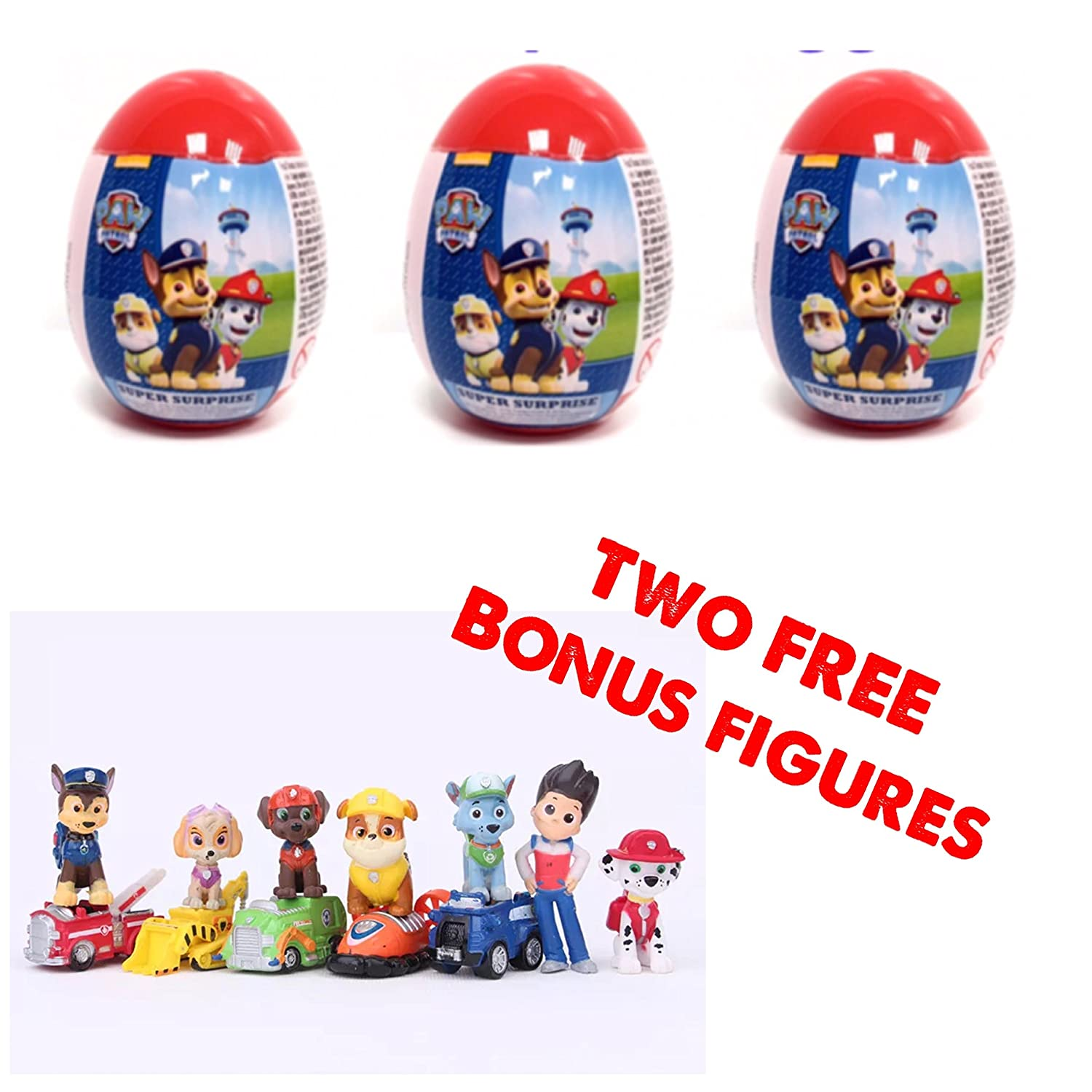 Nickelodeon TMNT Paw Patrol Egg Hunt with Candy Easter Basket Party Favor 22ct