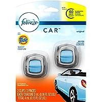 Febreze Febreze Car, Aromatizante Para Autos, Aroma Tide, 2 Unidades, color, 4.4000000000000004 ml, pack of/paquete de