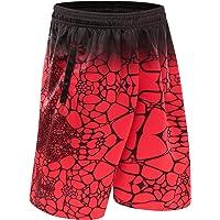 1Bests Hombres Corriendo Baloncesto Deportes Pantalones Cortos Thin