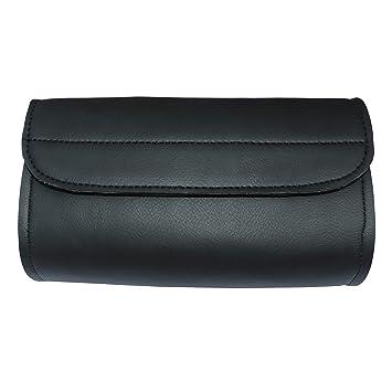 Amazon.com: Bolsa de almacenamiento de cuero sintético para ...