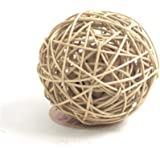 Rosewood Naturals Rattan Wobble Ball (Assorted Colours)