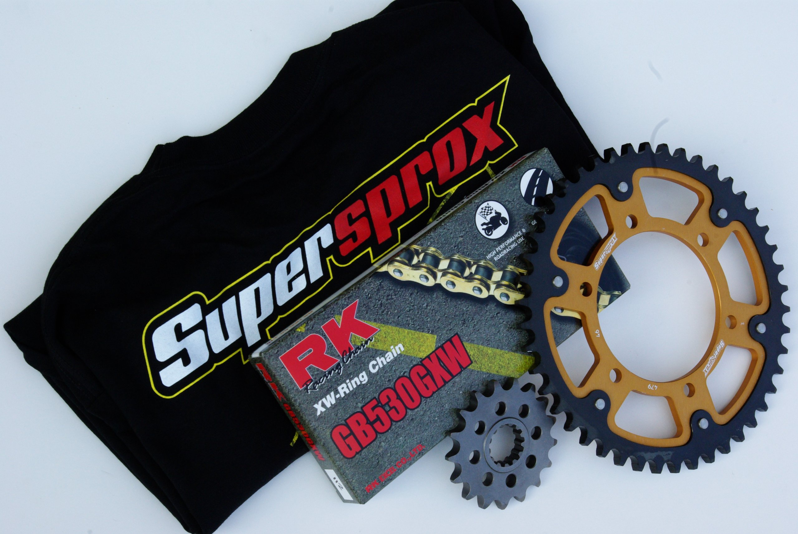 Supersprox Stealth Chain and Sprocket Set for Honda CBR 1100XX Super Blackbird (1997-2005)