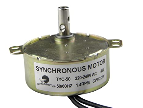 Amazon.com: TYC-50 220 V AC de imán permanente motor ...